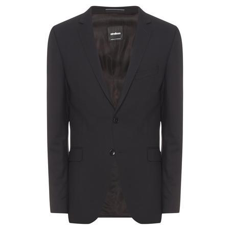Tailored Suit Jacket Black