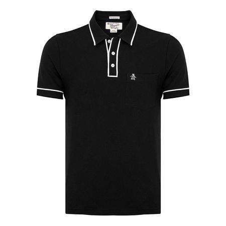 The Earl 2.0 Polo Shirt Black