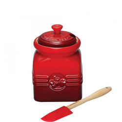 Berry Jam Jar & Spreader Cerise