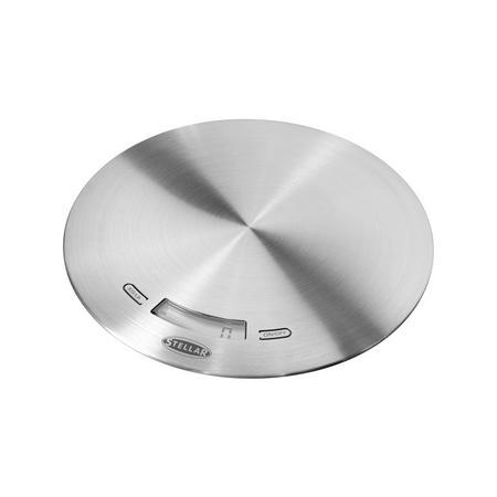 Slimline 5Kg Kitchen Scale Stainless Steel