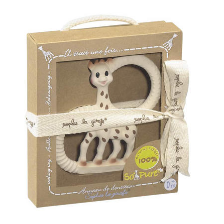 Teething Ring Beige