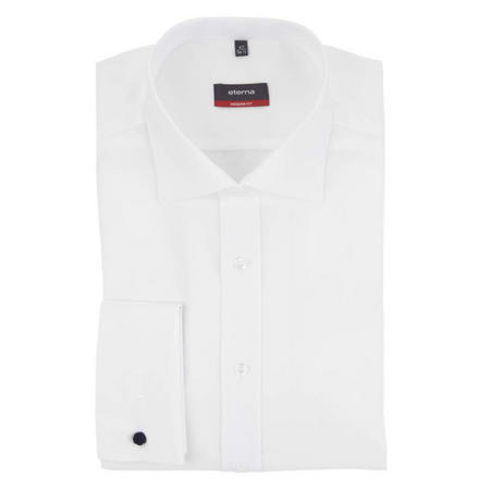 Rline Double Cuff Modern Shirt White