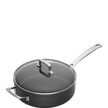 TNS Saute Pan & Glass Lid 26 Cm