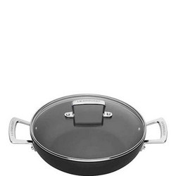TNS Shallow Casserole With Lid 24 Cm