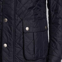 Ariel Quilted Jacket Navy