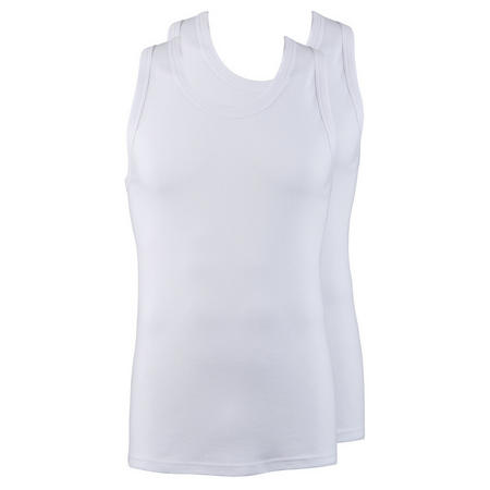 Two-Pack Vest Tops White