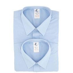 Trutex Boys Trutex L/Sleeve Twin Pack Shirts Blue