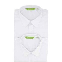 Virginian Boys' Shirt Twin Pack White