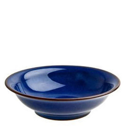 Imperial Blue Small Shallow Bowl Blue