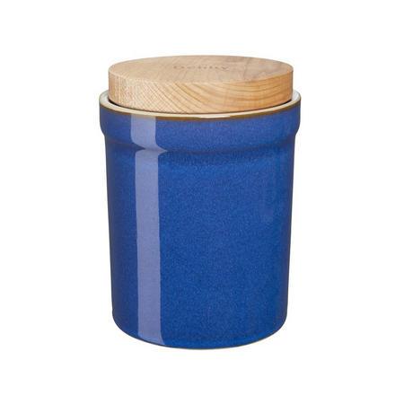 Imperial Blue Storage Jar Blue