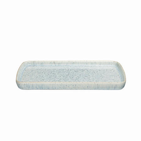 Halo Rectangular Plate Blue