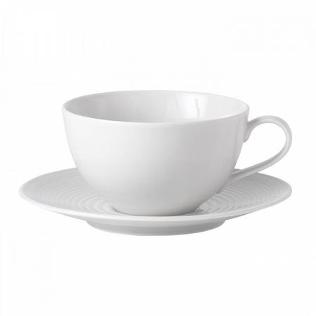 Gordon Ramsay Maze White Breakfast Cup & Saucer