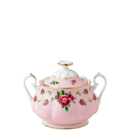 New Country Roses Pink Vintage Sugar Bowl