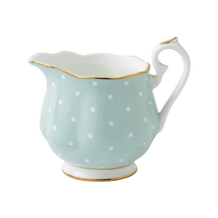 Polka Rose Cream Jug Vintage Multicolour