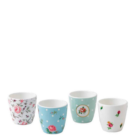 Contemporary Eggcup X4 Multi