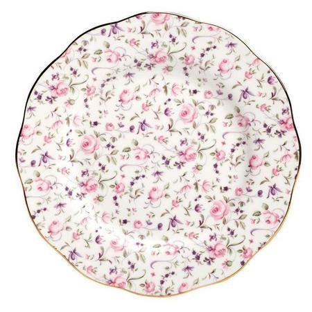 Plate Rose Confetti