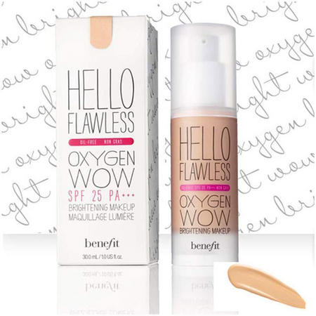 kup dobrze różne kolory najtańszy Benefit Hello Flawless Oxygen Wow Liquid Foundation