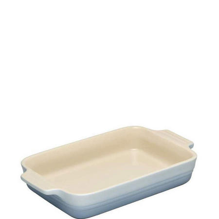 Stoneware Dish Rectangular 18 Cm Coastal Blue