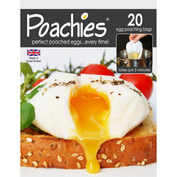 Poachies Egg Poaching Bags Set of 20