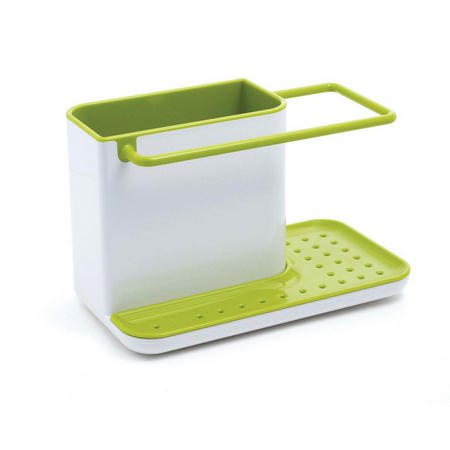 Caddy Sink Tidy White/Green