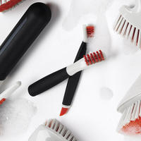 Deep Clean Brush Set White