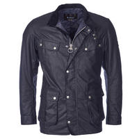 Duke Wax Jacket Navy