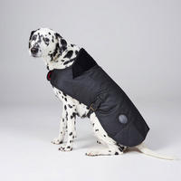 Waxed Dog Coat Black