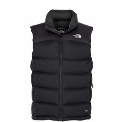 Face Nuptse Gilet Black