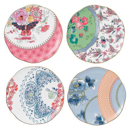 Butterfly Bloom Tea Plates Set 20cm