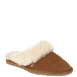 Jolie Sheepskin Slippers Brown