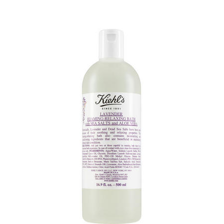 Lavender Foaming-Relaxing Bath With Sea Salts & Aloe