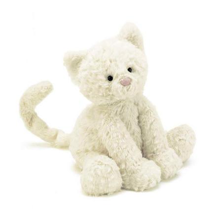 Fuddle Kitty 23cm Cream