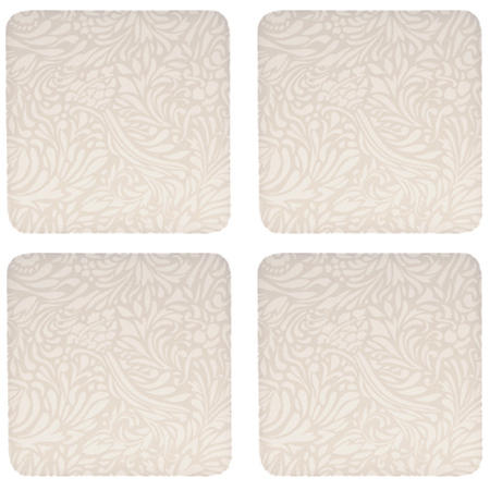 Monsoon Lucile Gold Coasters x 4 Gold