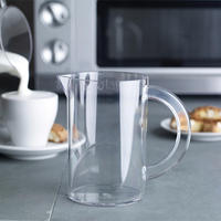 Microwave Milk Frothing Jug Clear