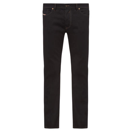 Waykee Straight Fit Jeans Black