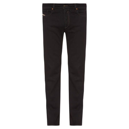 Straight Fit Jeans Black