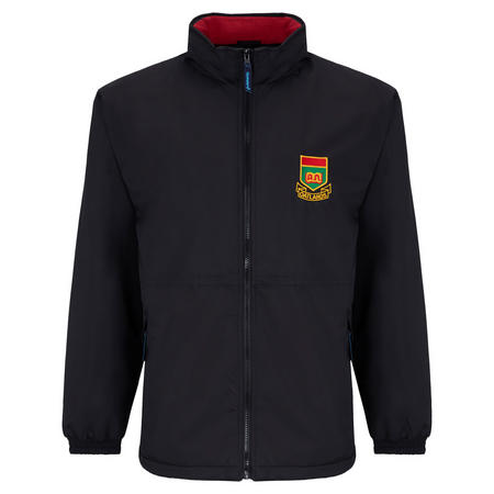 Crested School Jacket Black