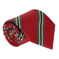 College Senior Tie Red