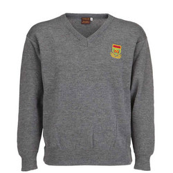 Crested Jumper Grey