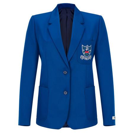 Crested Blazer Blue