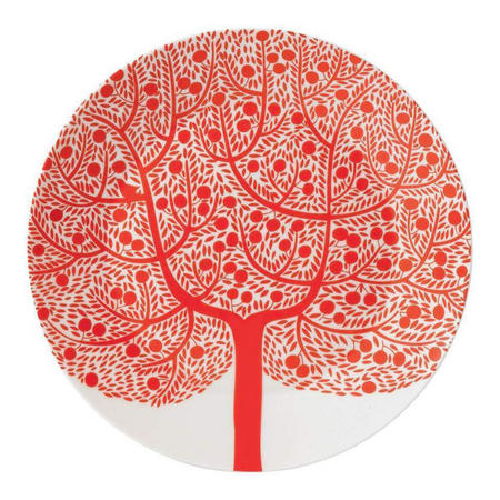 Fable 22cm Accent Tree Red