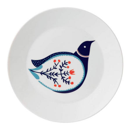 Fable 22cm Accent Plate Bird