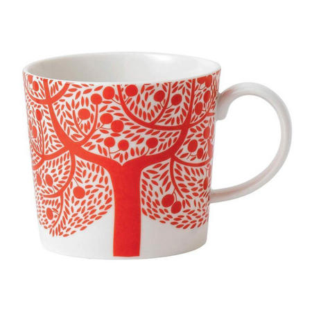 Fable Mug Accent Red Tree
