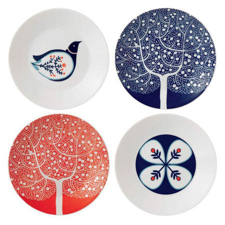 Fable Set of 4 16cm Accent Plates