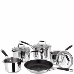 5000 Induction 5pce Saucepan Set PP444