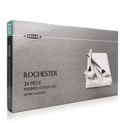Rochester 24 Piece Cutlery Set