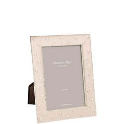 Enamel & Pearl Cream Frame