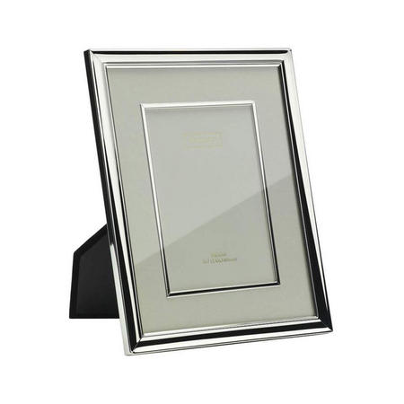 Silver Plate Mounted Frame