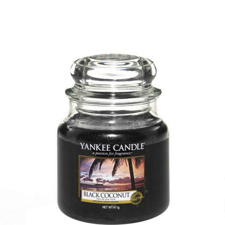 Black Coconut Medium Jar