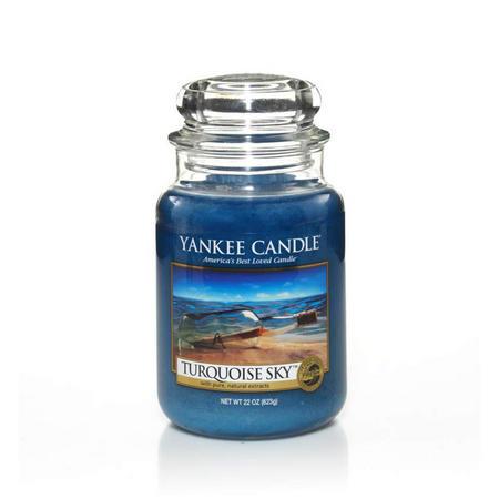 Turquoise Sky Large Jar